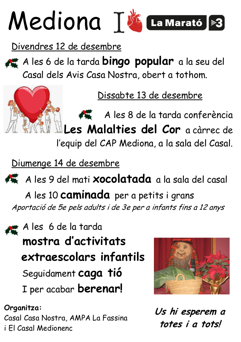 Cartell La Marató 2014